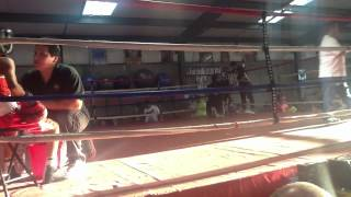 Aron Jesus Hernandez in Garden City, Kansas in Bad Boyz Boxing Gym