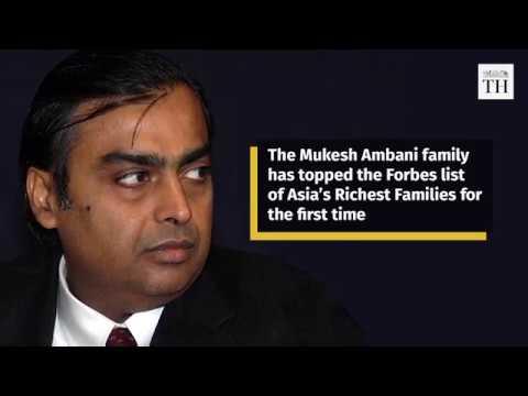 Mukesh Ambani family tops 'Forbes' list of Asia's richest family