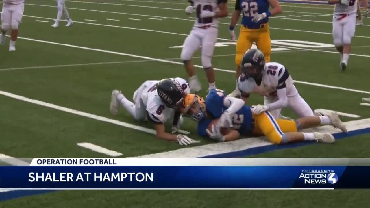 Hampton defeats Shaler