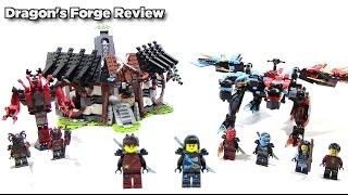 Lego Ninjago 70627 Dragon's Forge Review