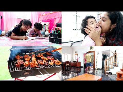 we-bought-a-new-barbeque---sunday-afternoon-barbeque-vlog---cheesy-french-toast---mango-smoothie