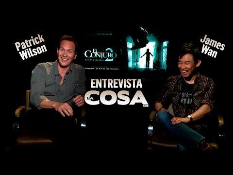 ESPECIAL EL CONJURO 2 - Entrevistas Patrick Wilson y James Wan