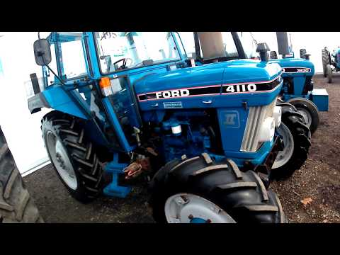 1987 Ford New Holland 4110 II 3.3 Litre 3-Cyl Diesel Tractor