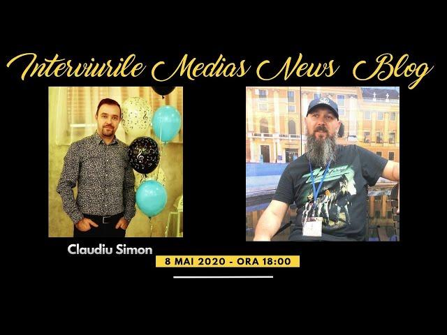 Claudiu Simon la Interviurile Medias News Blog