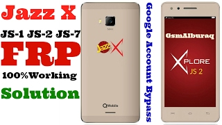 Qmobile Jazz X JS2 FRP,Remove Google Account,Android 6.0