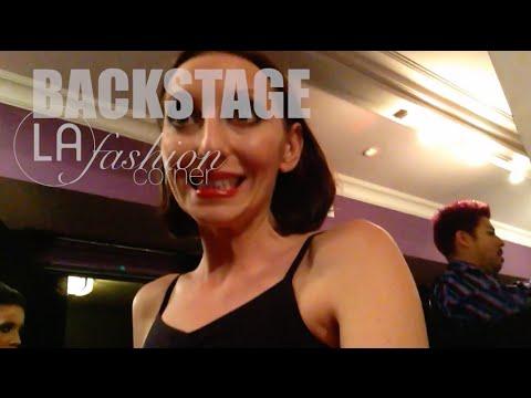 Annabell Osorio • BACKSTAGE • L.A. FASHION WEEK