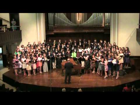 When Allen a Dale ACDA All State High School Honor Choir Jackson Mississippi 2011