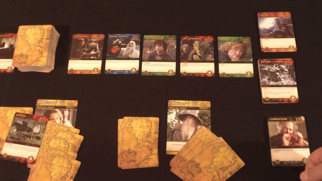 Lord Of The Ring Card Game Review