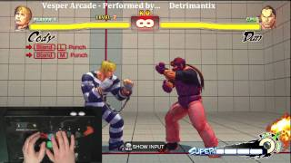 Super Street Fighter 4 Trials -  Cody