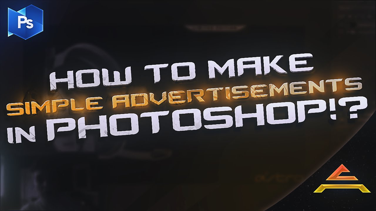Photoshop Tutorial: How to make Simple Advertisement Designs in ...
