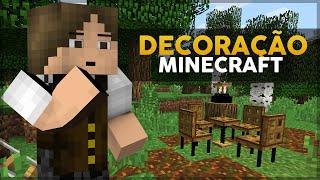 Minecraft Decoração #5: Decorações e Mobílias SEM MODS! (1.8+)