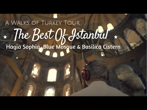 Best of Istanbul Tour with Hagia Sophia, Blue Mosque & Basilica Cistern