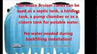 Plastic Septic Tanks | Plastic-mart.com