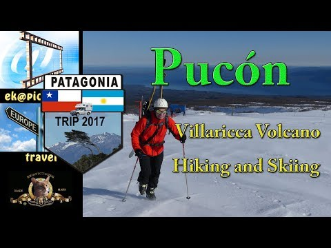 Pucón: Villaricca Volcano Hiking and Skiing