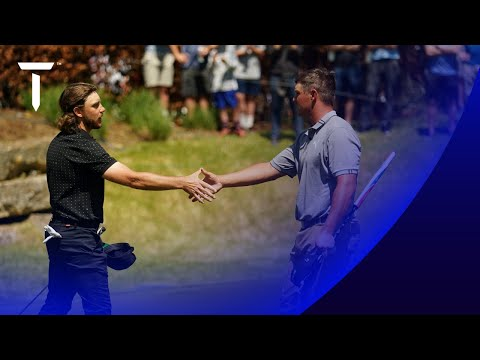 Fleetwood beats Bryson on the 18th hole | 2021 WGC-Dell Match Play