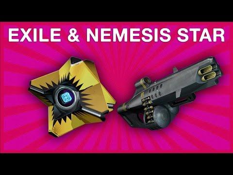Destiny - Exile Shell & Nemesis Star ¡AL FIN! (REACCIONES)