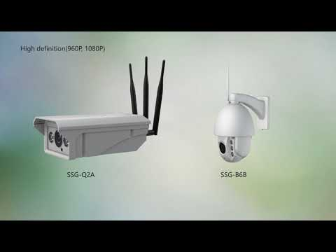 SSG Solar powered 4G Ip camera kit demo video