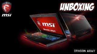 [UNBOXING] Laptop MSI GT72 2QE