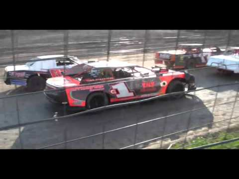 4.16.16---Peoria Speedway---Street Stock Heat Race