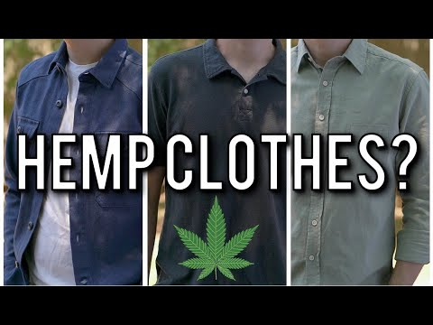 Best Hemp Clothes For Men