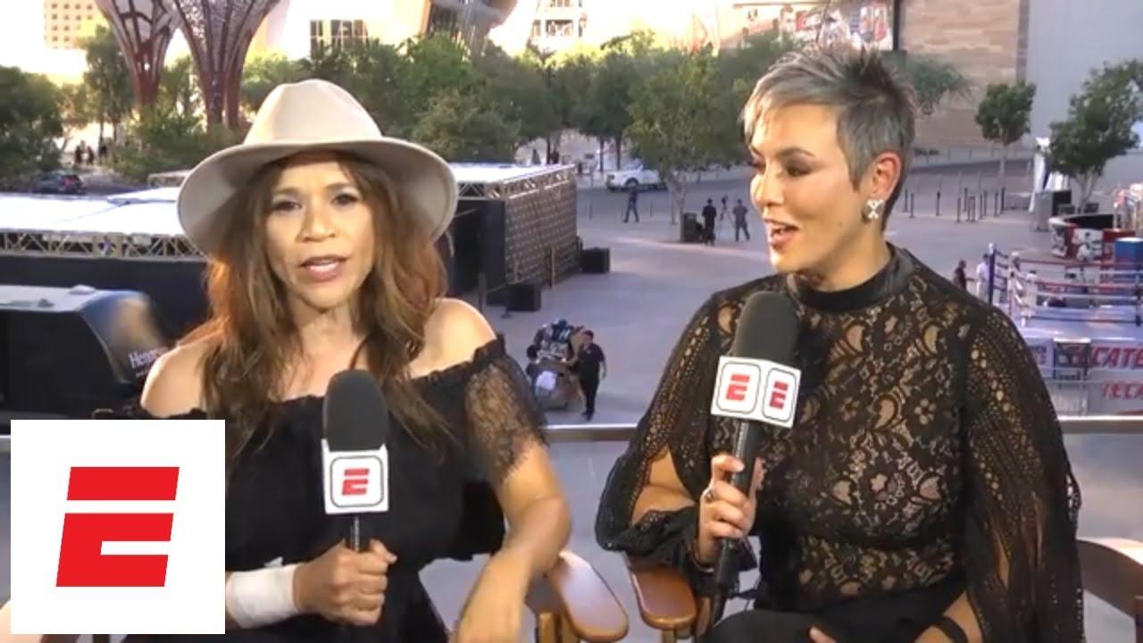 Rosie Perez says GGG-Canelo Alvarez rematch will be 'off the hook' | ESPN