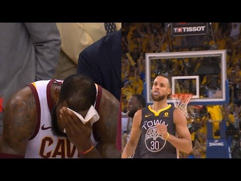Stephen Curry Makes LeBron And The Cavs Want To Cry!(Best Shooter Ever)