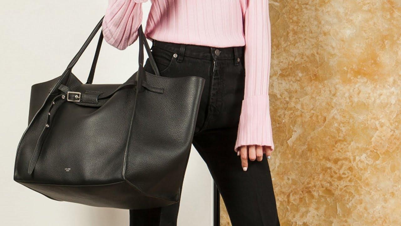 6cc081480a Женская сумка Big Bag Medium от Celine