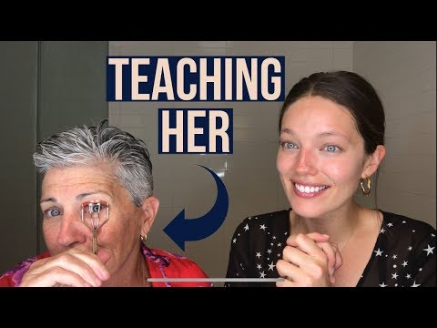 GRWM   Teaching My Mom Natural Makeup   Get Ready With Us    Emily DiDonato