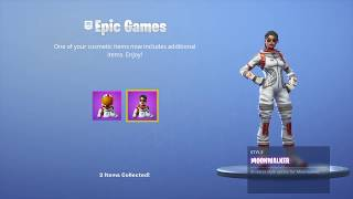 """How To Get The *NEW* """"Mission Specialist"""" & """"Moonwalker"""" Custom Styles! (Fortnite)"""