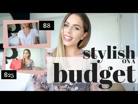 10 TIPS: How To Stay Stylish on a Budget | My Favorite Budget Friendly Stores