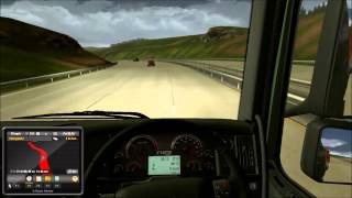 Euro truck simulator 2 gameplay from London to Cardiff