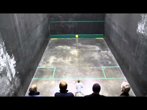 Rackets: Alastair Gourlay vs Nick James