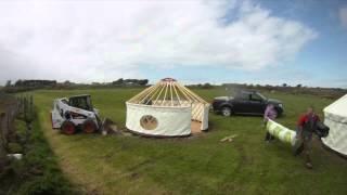 Yurts at Caerfai Farm