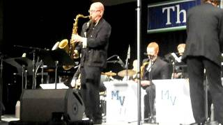 Rippin and Runnin with Jeff Coffin- MVHS Jazz at Midwest 2011
