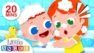 This is the Way Baby Takes a Bath | Healthy Habits | Kids Songs & Nursery Rhymes by Little Angel