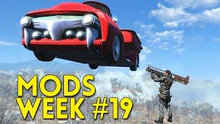 Fallout 4 TOP 5 MODS Week #19 - Car Launcher, Crysis Assault Rifle, Nicer Interiors