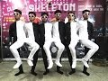 Optical Illusion Black and White Dance India by Skeleton Dance Crew