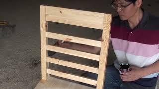[목공 / Woodworking] 원목 의자 만들기 / Making A Wood Chair
