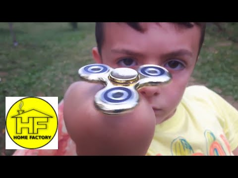 FIDGET SPINNER TRICKS FOR KIDS - easy fidget spinner tricks -  how to spin fidget spinner