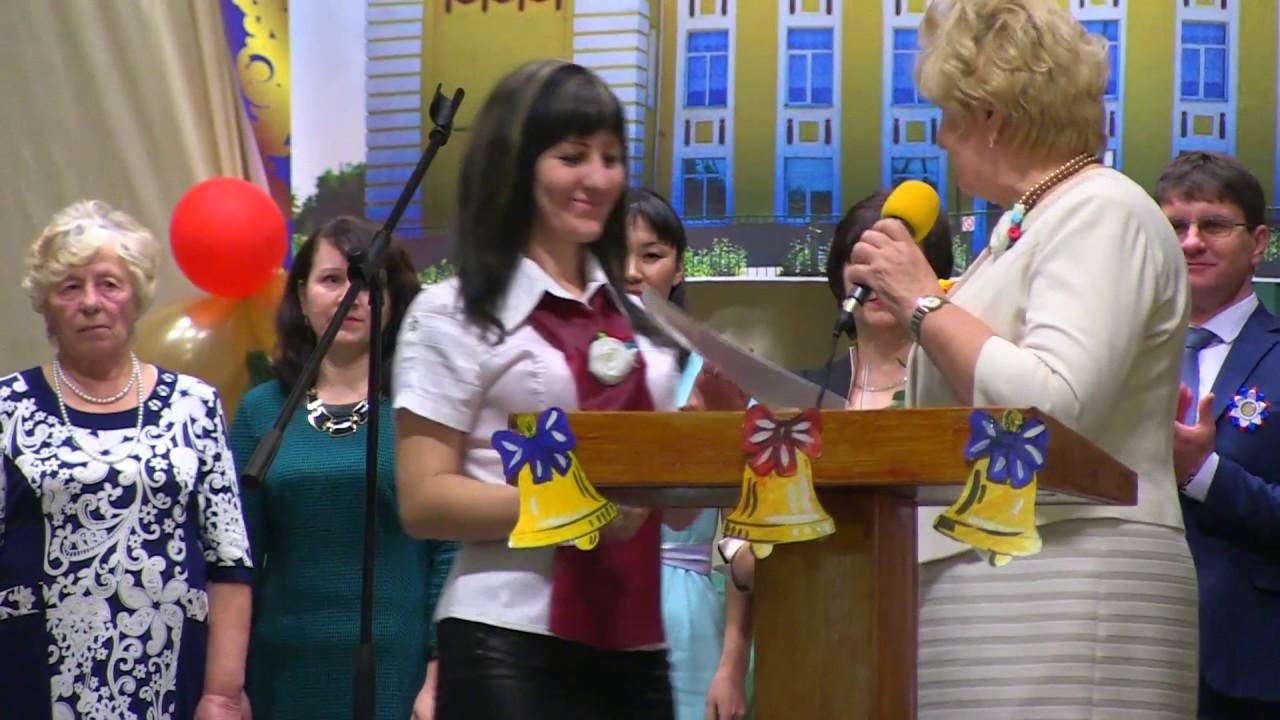 Приморская средняя школа отметила свой 60-летний юбилей