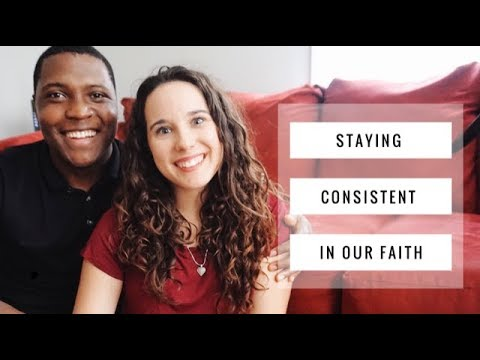 How To Stay Consistent in Faith | Christian Vlog | How To Study The Bible