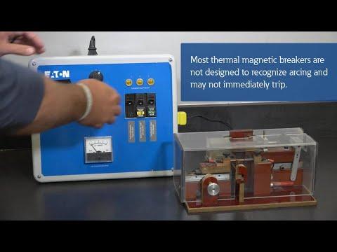Arc Fault Circuit Interrupter (AFCI) demonstration