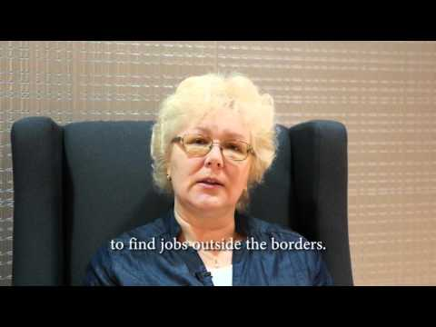 Gita Miruskina of Latvia Describes When She found Out about Human Trafficking