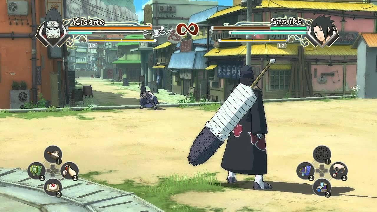 Naruto Shippuden Unsg Kisame Hoshigaki Samehada Fusion Mode Youtube
