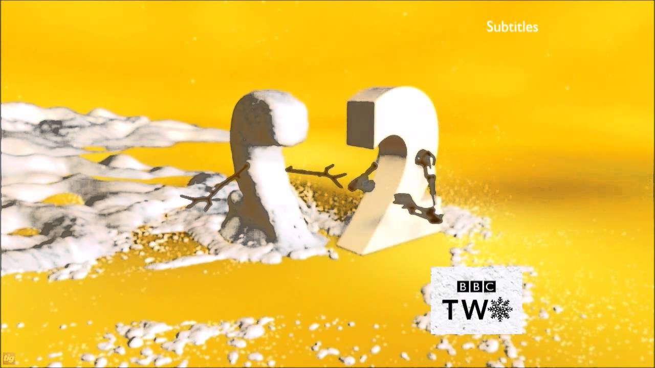 BBC Two Christmas Ident 2 2015 - YouTube