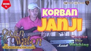 Instrumen Lagu Korban Janji cover guitar by Wahyu