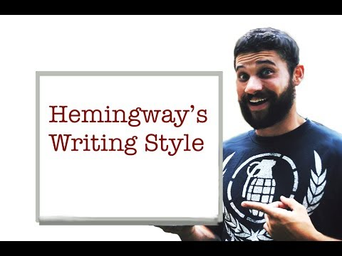 Hemingways Writing Style and Voice: The 10-Point Discussion