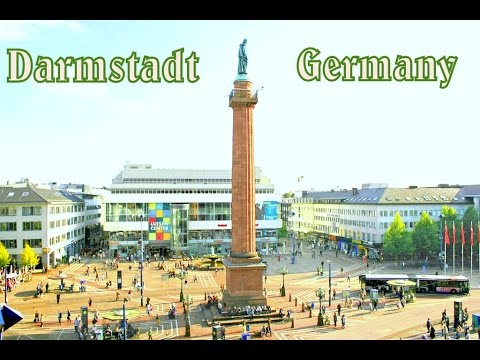 Darmstadt, Germany: The Hustle and Bustle In The City