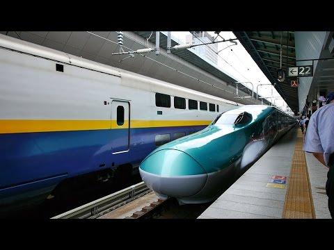東北新幹線 はやぶさ13号 (E5系運行) 超広角車窓 進行左側 東京・上野~仙台~八戸・新青森