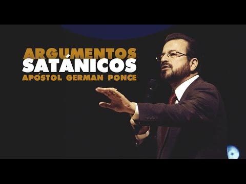 Apóstol German Ponce Argumentos Satánicos - domingo, 1 de noviembre 2015